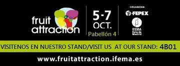 Fruit Attraction 2016 Madrid desde el 5 al 7 de Octubre